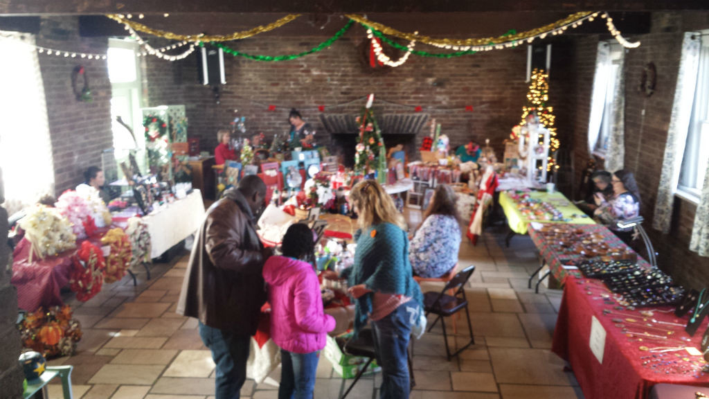 clubhouse at Christmas